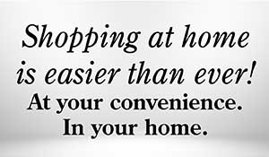 Shopping at home is easier than ever! Work with Towne Pride Interiors at your convenience in your own home.