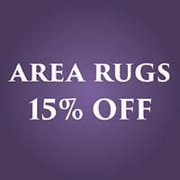 15% off area rugs during our Anniversary Flooring Sale